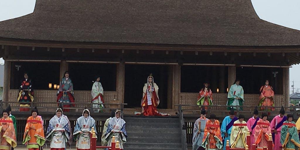 伊勢物語の「斎王」(三重県明和町)で、様々なイベントを繰り広げれています。そのイベント担当を募集!