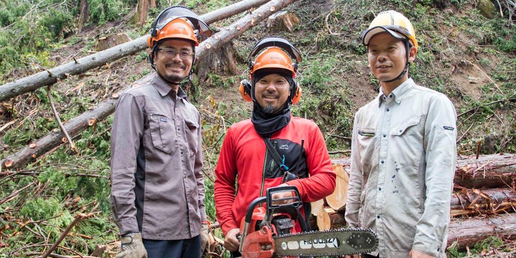 【地域おこし協力隊】源流の森を守る、根羽村森林組合の技能職員募集!