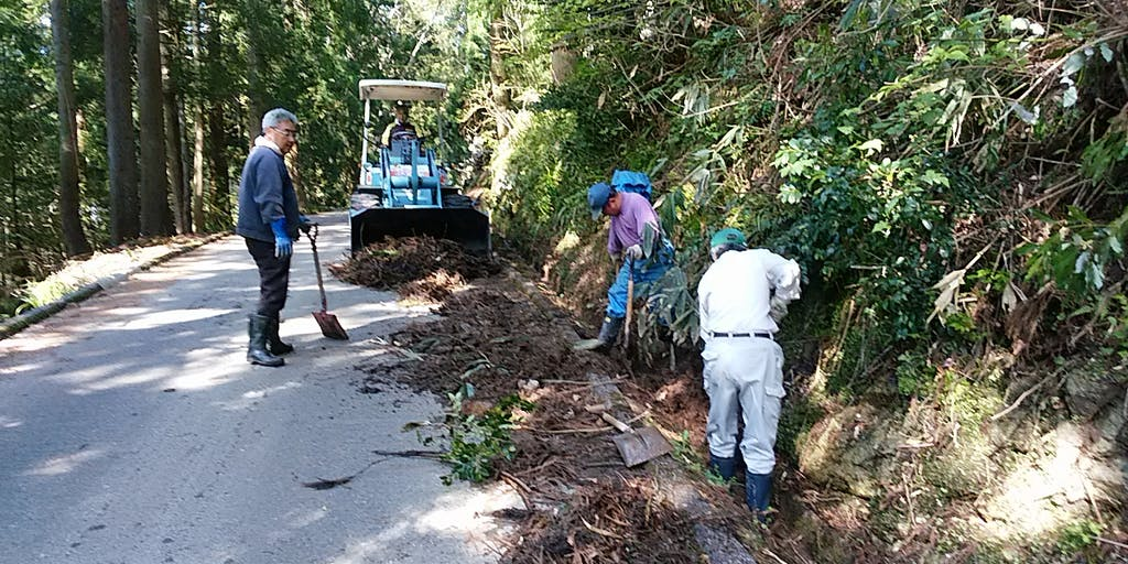 水路清掃で美しい里山づくりに協力いただける方を募集!