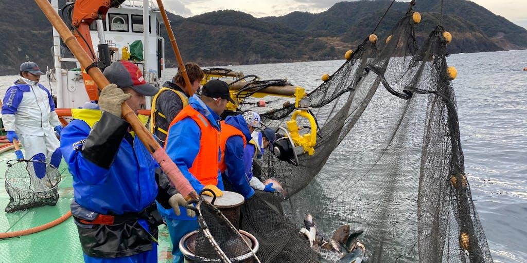 【7/19〆地域おこし協力隊募集】定置網漁業を基軸とした、半漁半Xな暮らしを楽しもう!