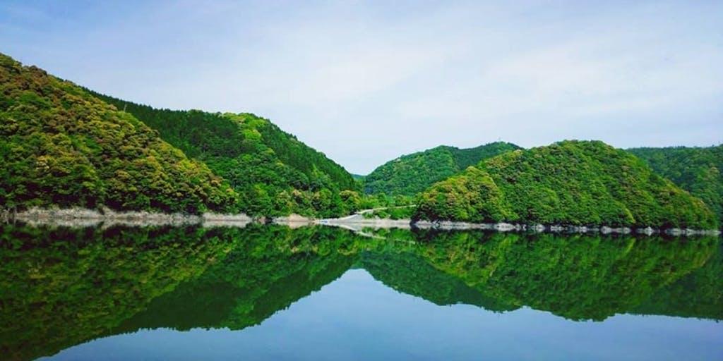 広大な阿武川ダム湖を有効活用し地域を活性化しよう!アウトドアが好きな人募集!