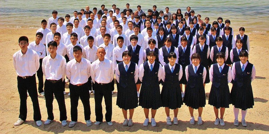 瀬戸内しまなみ海道にある2つの県立高校。こんなにも美しい瀬戸内海の島で高校生活を過ごしてみませんか?