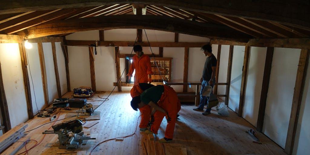 東京から3時間。休暇は長野県小川村で土蔵を改修して過ごしませんか。