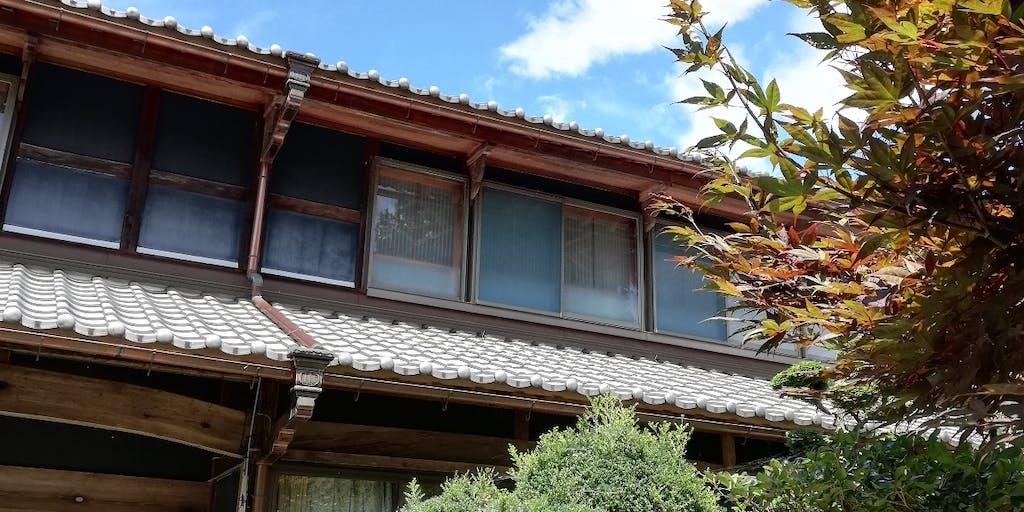上石津(かみいしづ)の古民家で、くつろごう。つながろう。