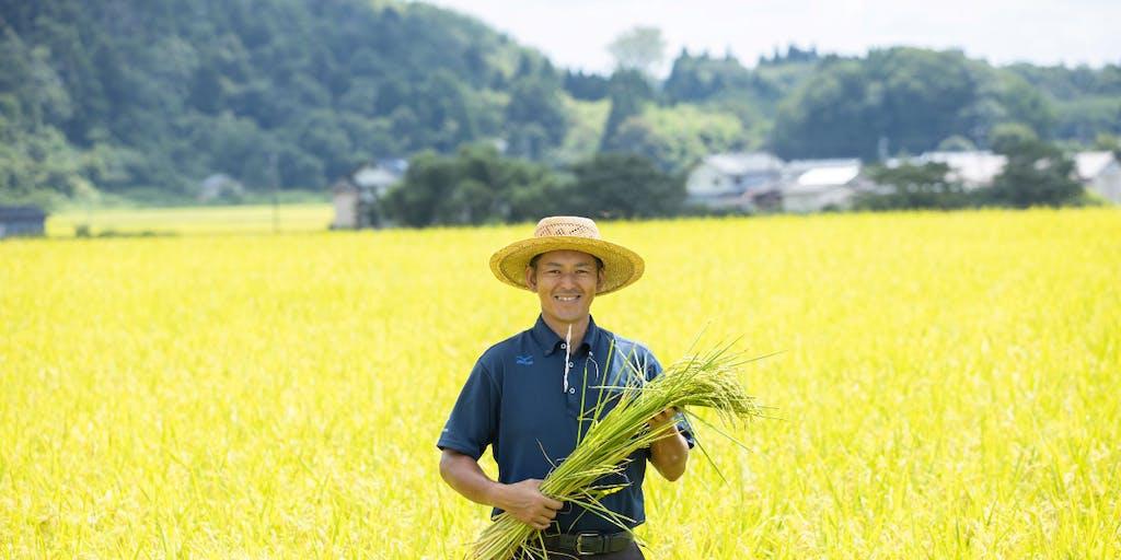 豊岡の自慢「コウノトリ育む農法のお米」で温かみのある移住後の支援をはじめました!