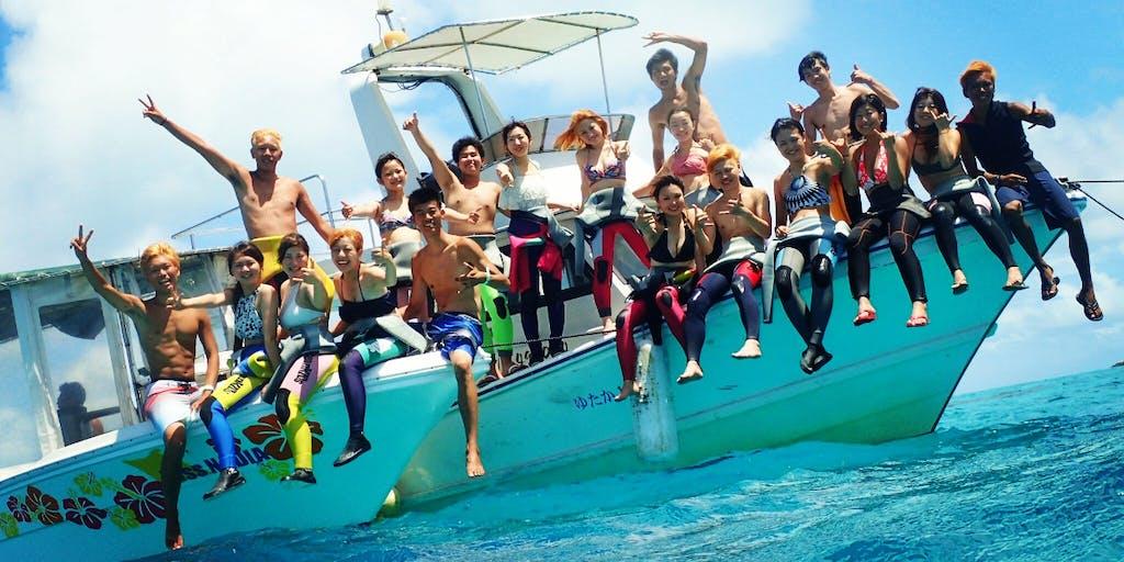 沖縄本島から更に南へ!マンタの楽園『石垣島』でマリンレジャーサービス開業しませんか?