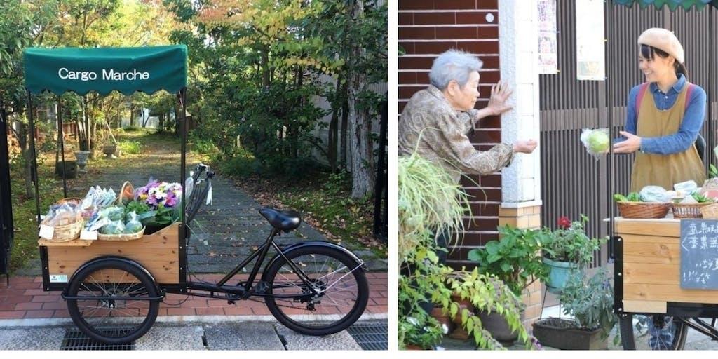 三輪自転車を使った革新的なサービスや事業をやろう~!