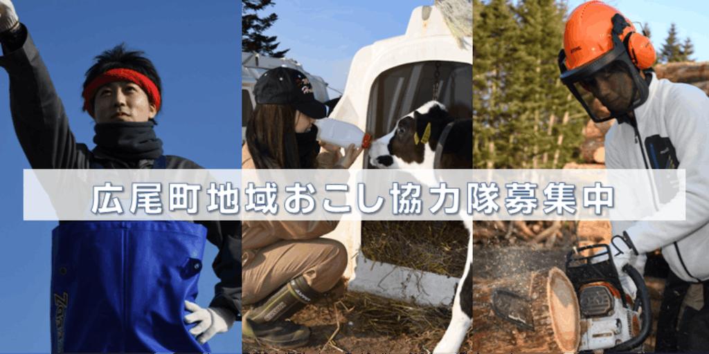 「ヒトとヒト」をつなぐ。北海道広尾町で一緒にまちを元気にしてくれる方を募集します!【地域おこし協力隊3名募集】