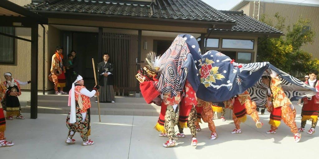 獅子舞にプレーヤーとして参加してみたい方を募集します