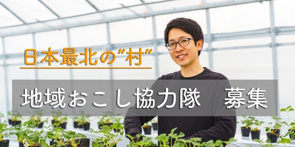 """【日本最北の""""村""""】ビニールハウスで最先端のスマート農業に挑戦する仲間を募集!"""