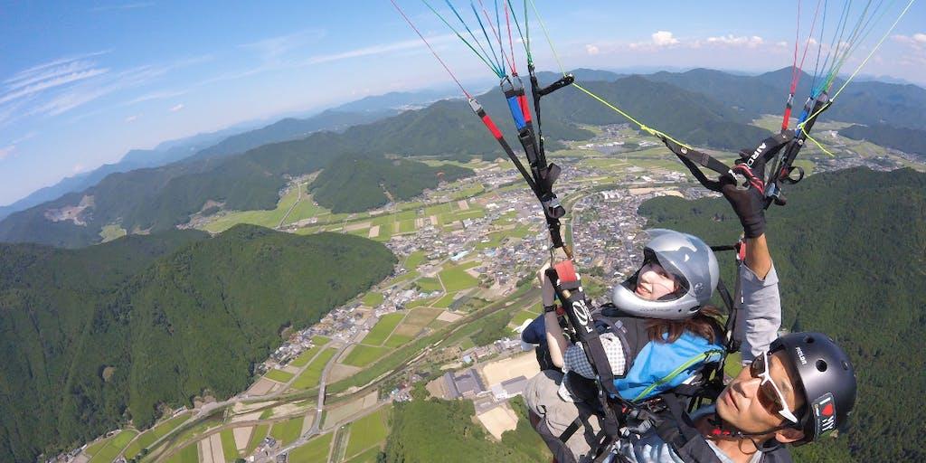 順延!オンラインで体験!パラグライダーで夏の空を飛んでみよう