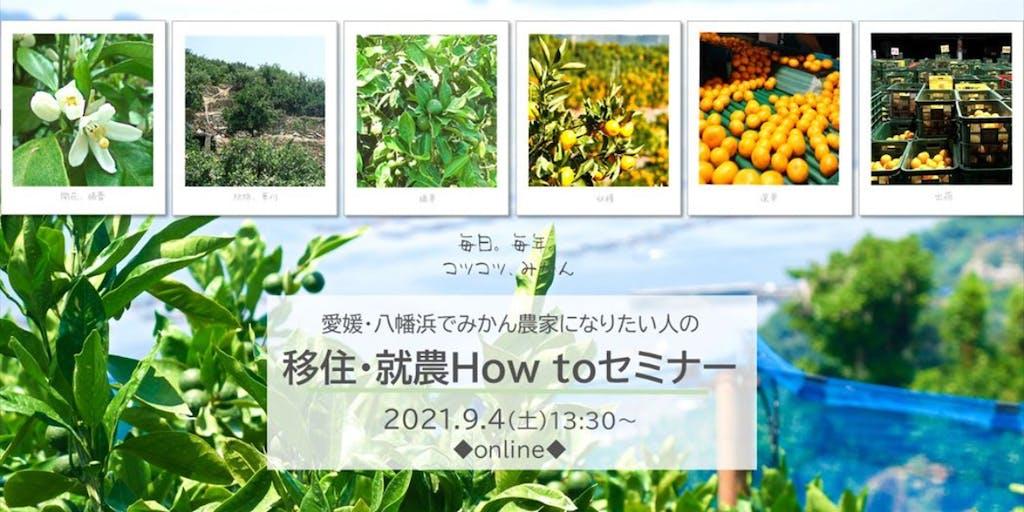 愛媛県八幡浜市が発信する移住イベント情報について