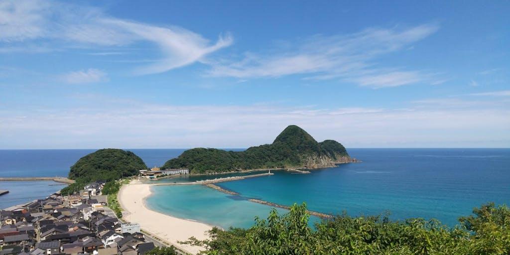 まずはお得に1週間!関西随一の海水浴場「竹野浜」を目の前にご家族とプチ移住してみませんか?ワーケーション利用も可!