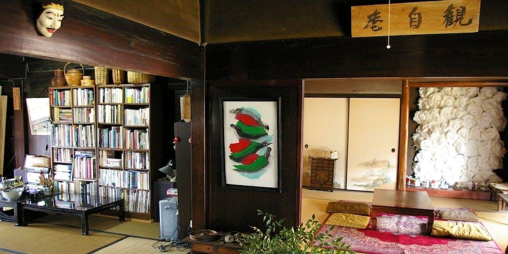 若狭富士・青葉山麓の築100年の古民家と築1200年のお寺での国際アート展にいらっしゃいませんか!