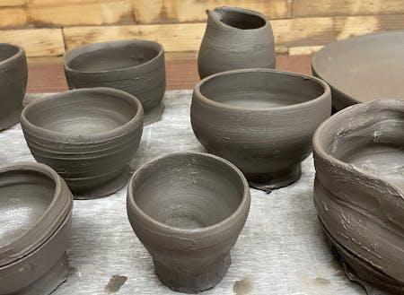 陶芸教室も始まりました。大人子どもメンバー募集中!