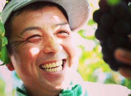 ぶどう農家の赤迫農園:赤迫さん