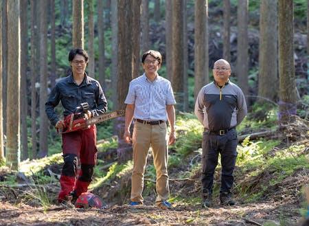 """""""水""""とのつながり活かして山を守る『新しい林業』"""