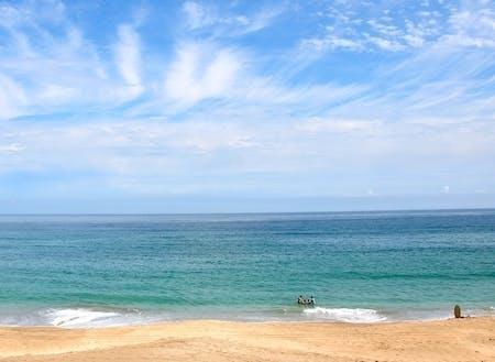 市内には4つの海水浴場があり、サーファーに人気のサーフスポットもあります!