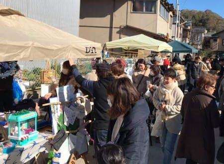 出店者減少も課題のひとつ。勝浦朝市の運営組織「かつうら朝市の会」主催のお試し1日イベント「勝浦マルシェ」も開催しています!