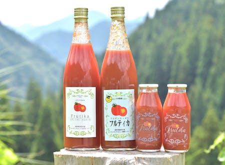 トマトの魅力をより多くに届けるために商品開発も