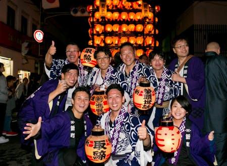 福島県二本松市 小浜紋付祭り