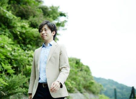 代表者① 釜石市総務企画部総合政策課オープンシティ推進室長 石井重成さん