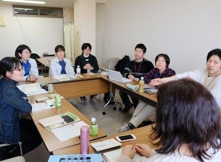 現在花巻市には9名の現役協力隊が活動中。彼らとの交流もプログラムに含んでいます。