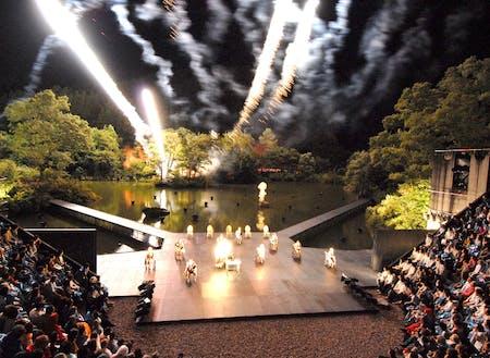 8月下旬から行われるSCOT(スコット)サマーシーズンの様子。地域内には複数の演劇場があり演劇の聖地としてしられています!