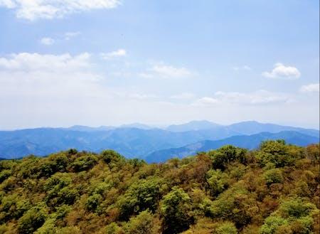 扇山からの眺め