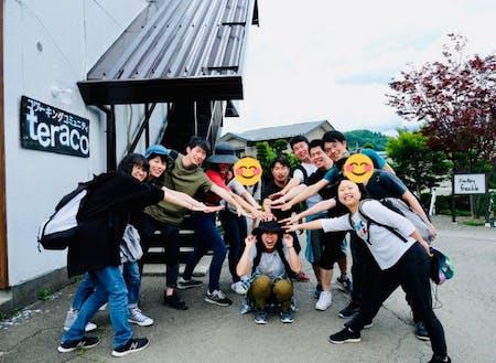 さまざまな都道府県から集結する受講生。日本全国に友達が!