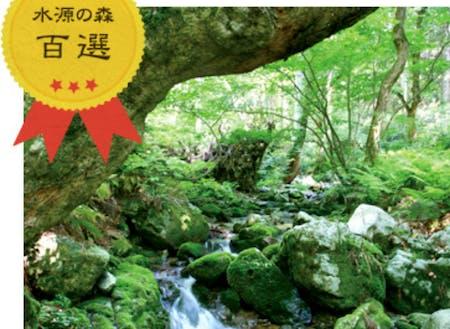 毛無山ブナ林。岡山県下流域、岡山市等に流れていきます。