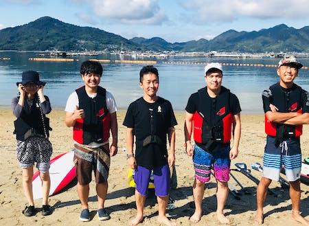首都圏のメンバーの島体験!