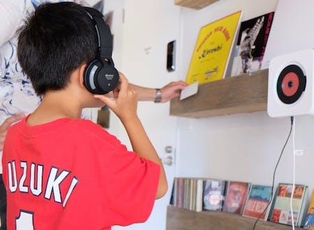 子供から大人までみんなが楽しめるレコードスペース