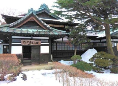 会場となる三川町文化交流館(アトク先生の館)※撮影時:冬