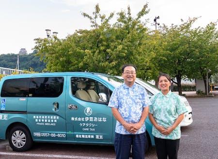 もともと看護師だった奥さんの河瀬愛美さんも、立ち上げからともに「伊豆おはな」を支えてきたメンバーです。