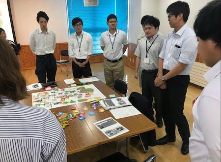 下川町の「SDGs的要素」を地図を見ながらみんなで考えました