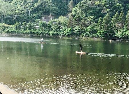 素敵な川でのアクティビティ@錦江町