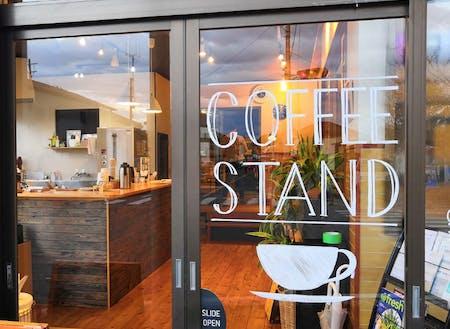 オムスビの運営するコーヒースタンド「Odaka Micro Stand Bar」」