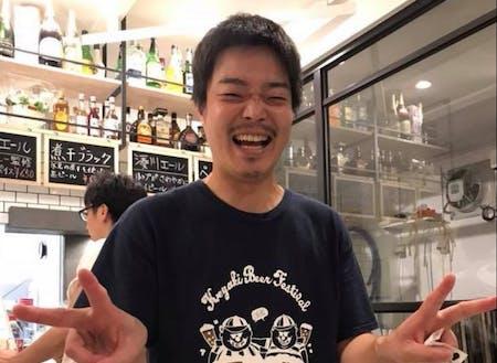 今回のゲストのひとり、Uターンでクラフトビールのお店を開業した山本さん