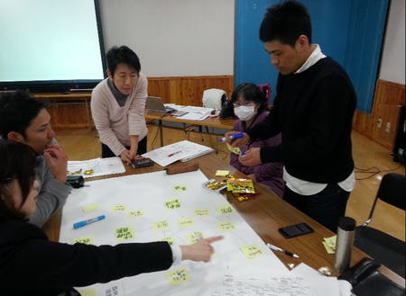 下川町のまちづくりは、町民主体で。地域の課題や「こうなったらいいな」というイメージをブレスト