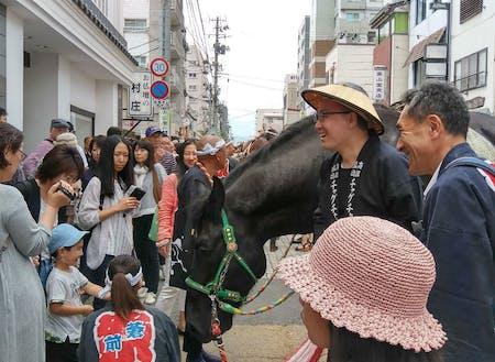馬との人との交流