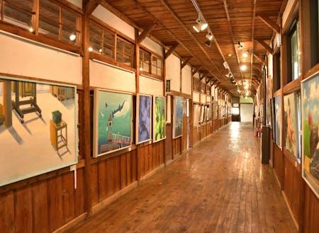 廃校を活用した西会津国際芸術村