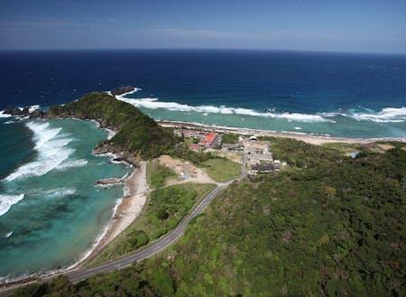 国立公園にも指定されているヒエン浜