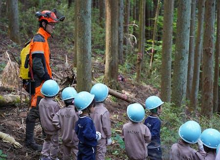 木を切るだけでなく、自ら企画を形にできるのがこの仕事の醍醐味