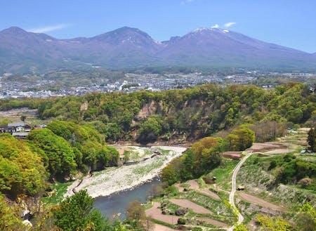 山、川に囲まれた小諸は、自然が豊かで水や野菜が美味しい田舎