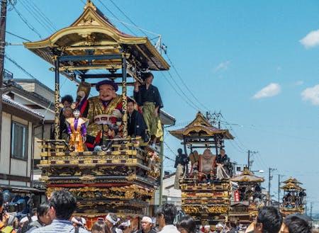 平成26年にユネスコ無形文化遺産に登録された【城端曳山祭】