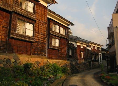 越中の小京都【蔵回廊】の風景
