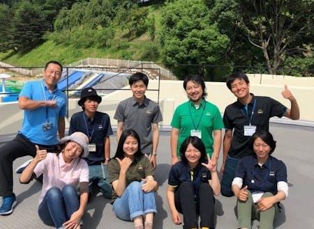 辰野町地域おこし協力隊の皆さん!! 私たちと一緒に楽しみましょう!!