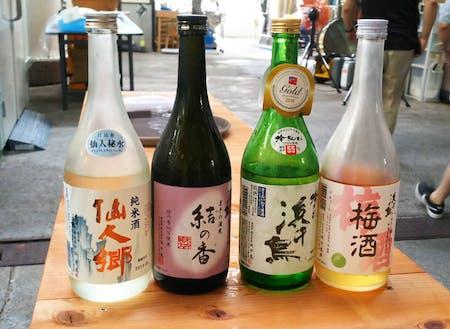 釜石の地酒、「浜千鳥」ご用意してお待ちしております。