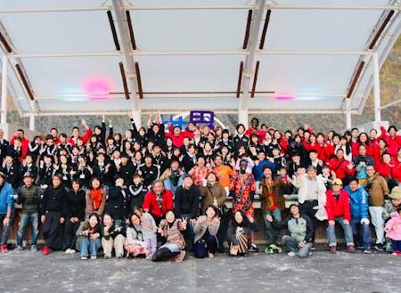 文化センターでおこなわれた世界民族祭では学生団体が大活躍!